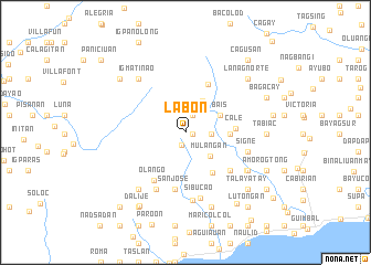 map of Lab-on