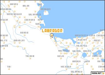 Labrador Philippines map nonanet