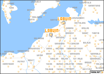 map of Labuin