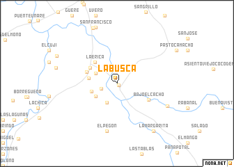 map of La Busca