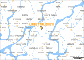 map of Labuttalokgyi