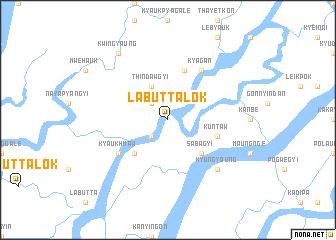 map of Labuttalok