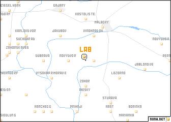 map of Láb