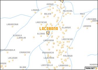 map of La Cabaña