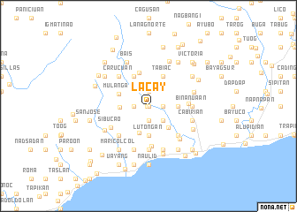 map of Lacay