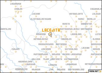 map of La Cejita