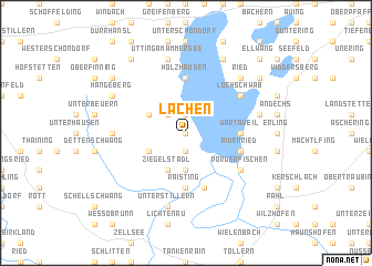 map of Lachen