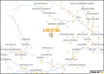 map of Lachtal
