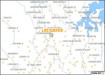 map of La Cigarra