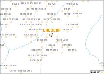 map of La Cocha