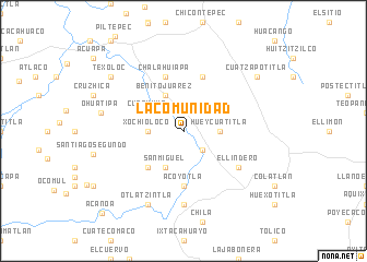 map of La Comunidad
