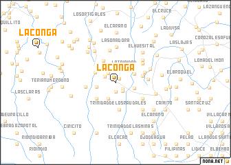 map of La Conga