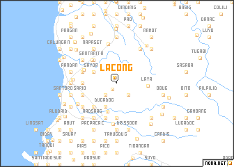 map of Lacong