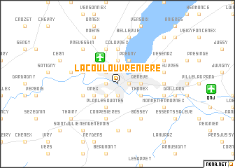 map of La Coulouvrenière