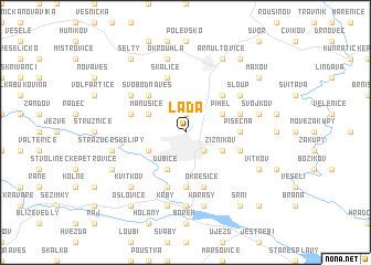 map of Lada