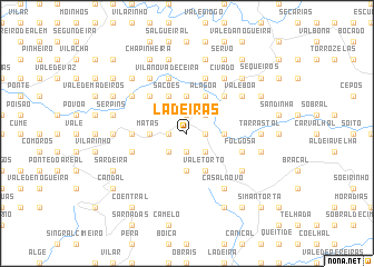 map of Ladeiras