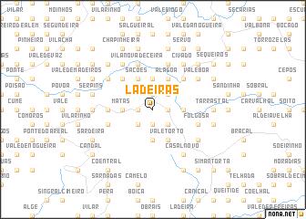 map of Ladeiras