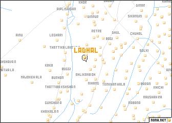 map of Ladhāl