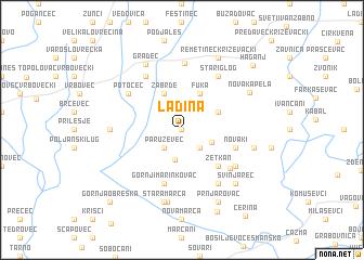 map of Ladina