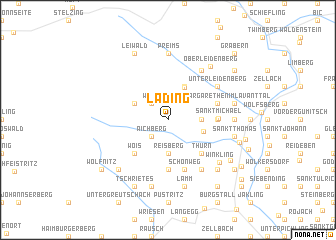 map of Lading