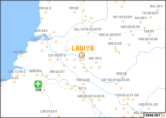 map of Ladiya