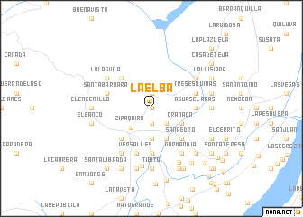 map of La Elba