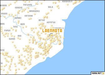 map of Laenmota