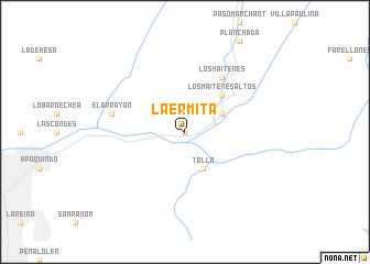 map of La Ermita