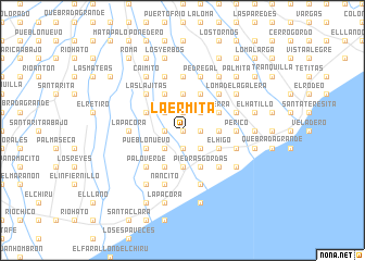 map of La Ermita