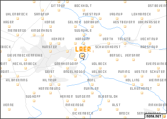 map of Laer