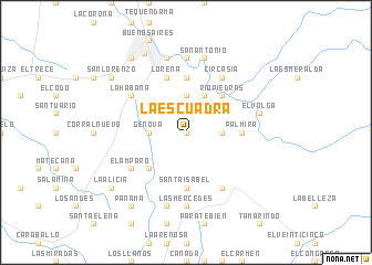 map of La Escuadra