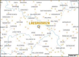 map of La Esperanza