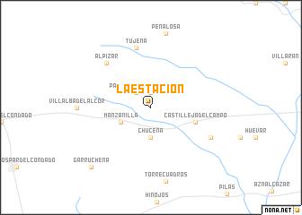 map of La Estación