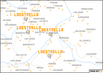 map of La Estrella