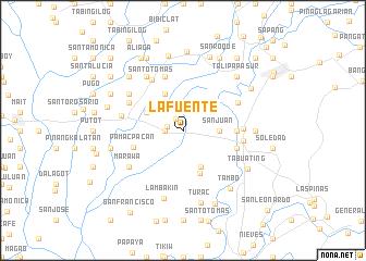 map of La Fuente