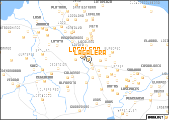 map of La Galera