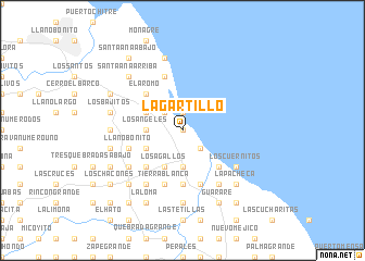 map of Lagartillo