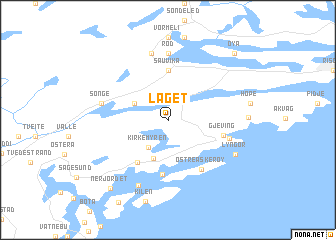 map of Laget