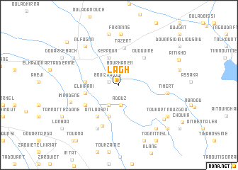 map of Lagh