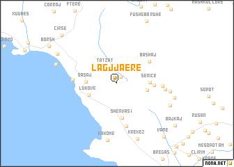 map of Lagjja e Re