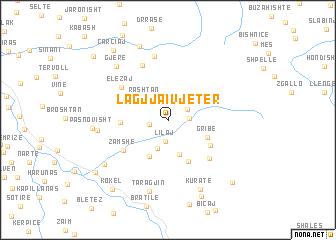 map of Lagjja i Vjetër