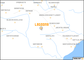map of Lagoona