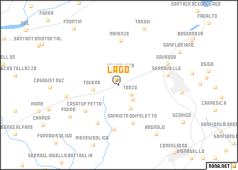 map of Lago