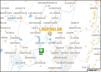 map of La Griselda