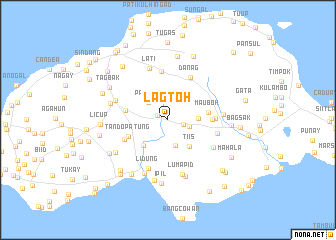 map of Lagtoh