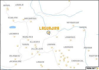 map of La Guajira