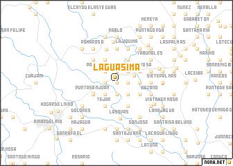 map of La Guásima