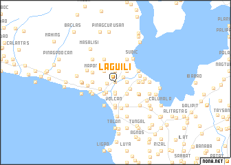 map of Laguili
