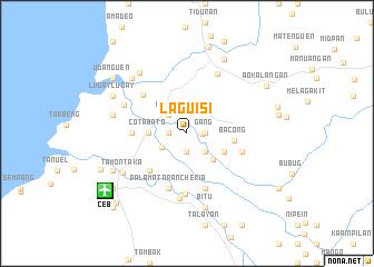 map of Laguisi