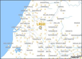 map of Lagui